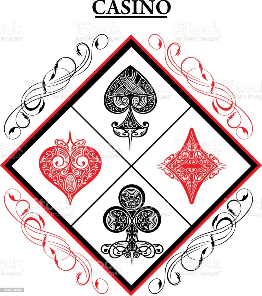 Playing Card vector art illustration