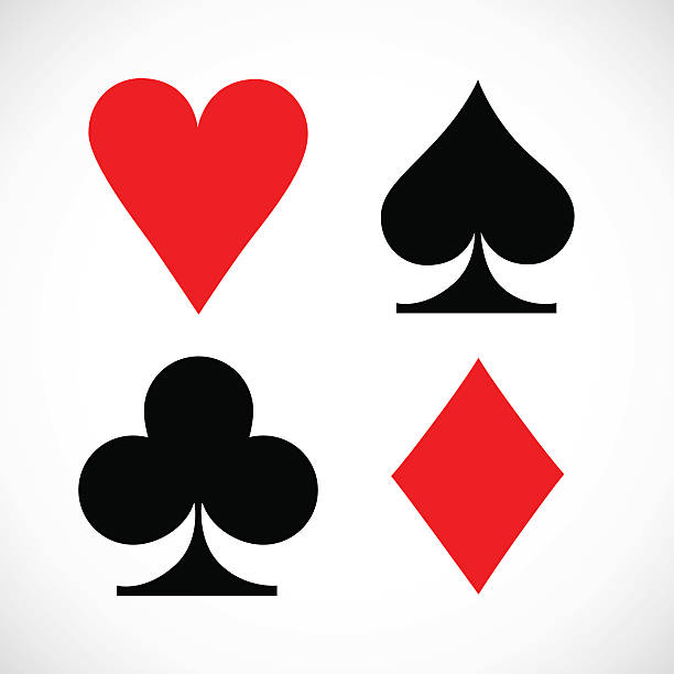 Hearts Playing Card Clip Art, Vector Images ...