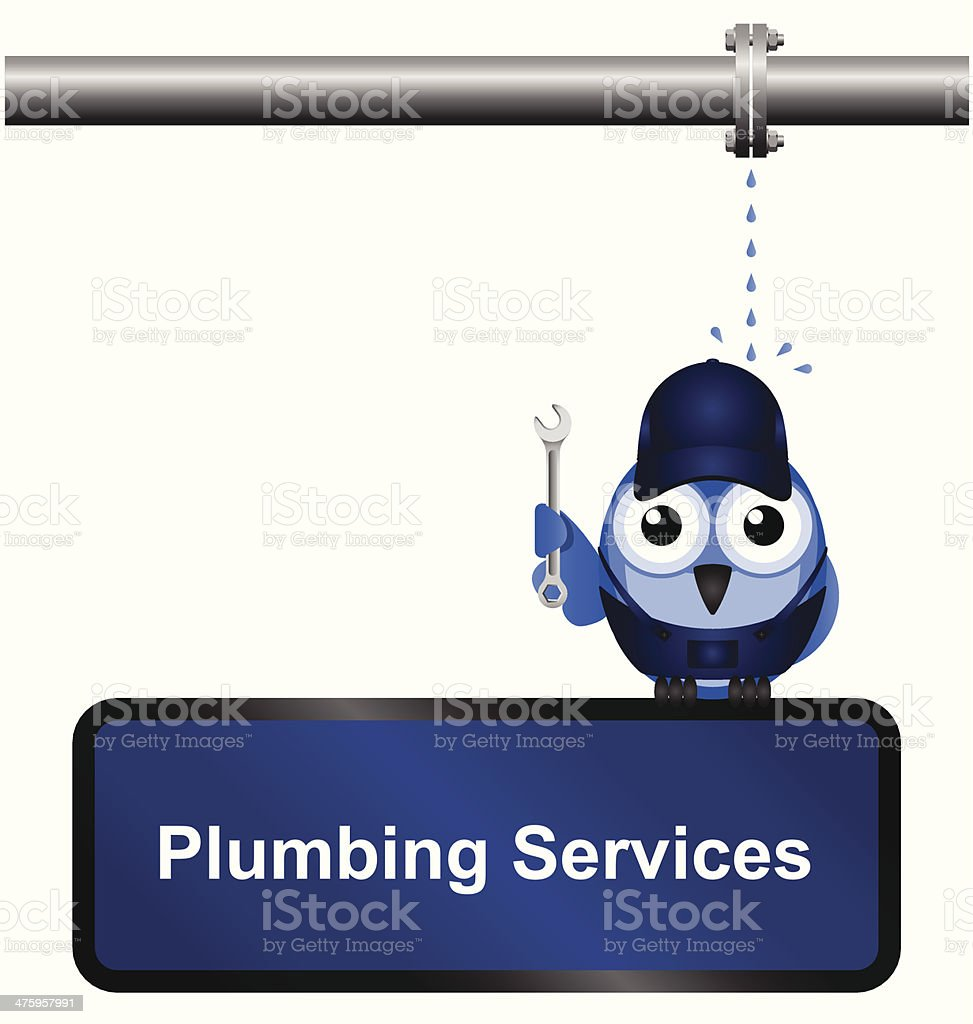 Plumbing Services royalty-free stock vector art
