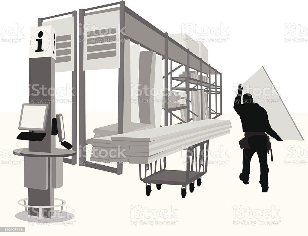 Plywood royalty-free stock vector art