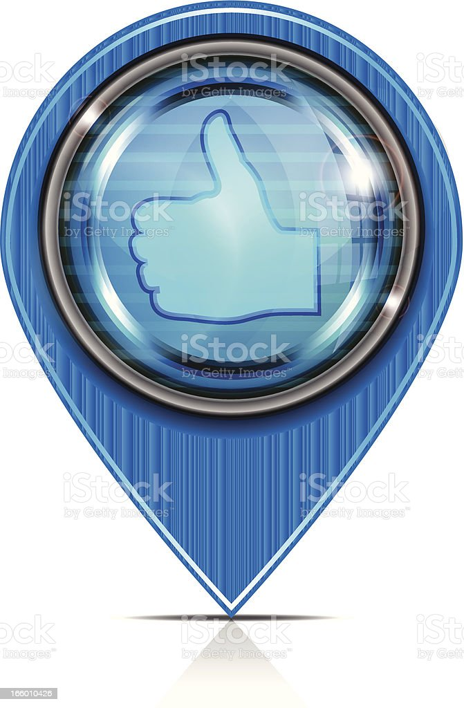 Pointer Icon |  Thumbs Up royalty-free stock vector art
