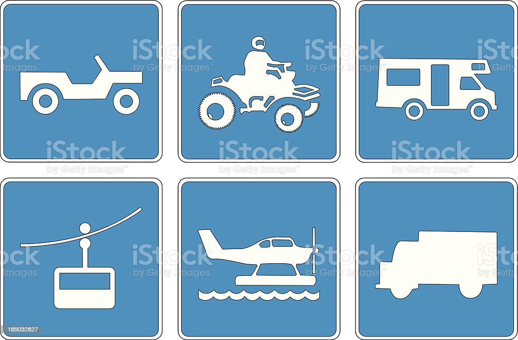 Points of Interest: 11 (Paths Corrected) royalty-free stock vector art