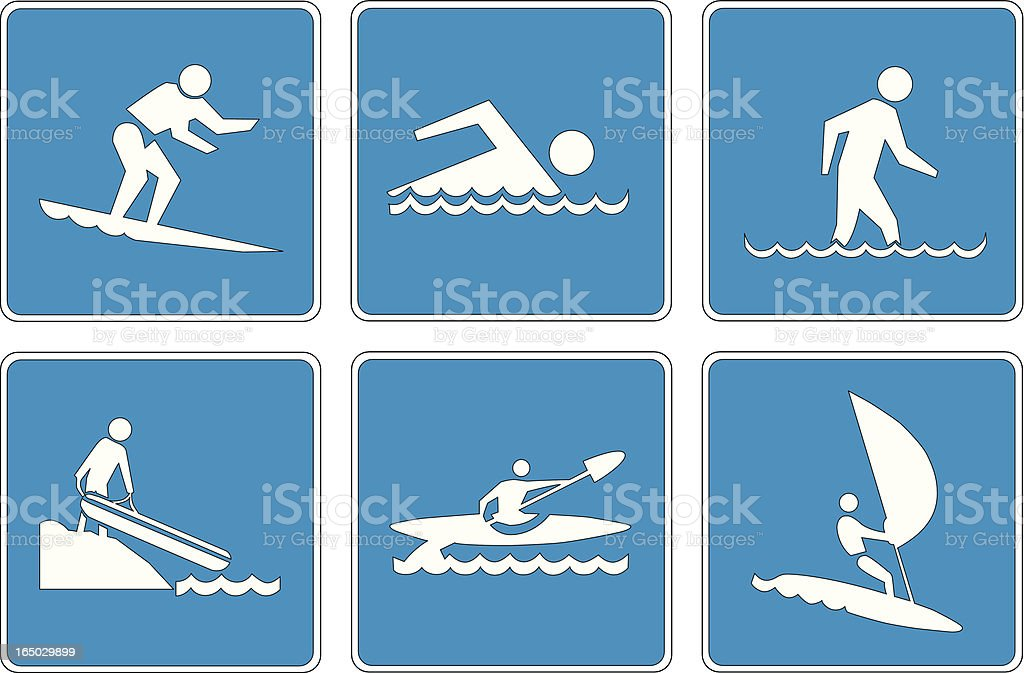Points of Interest: 12 royalty-free stock vector art