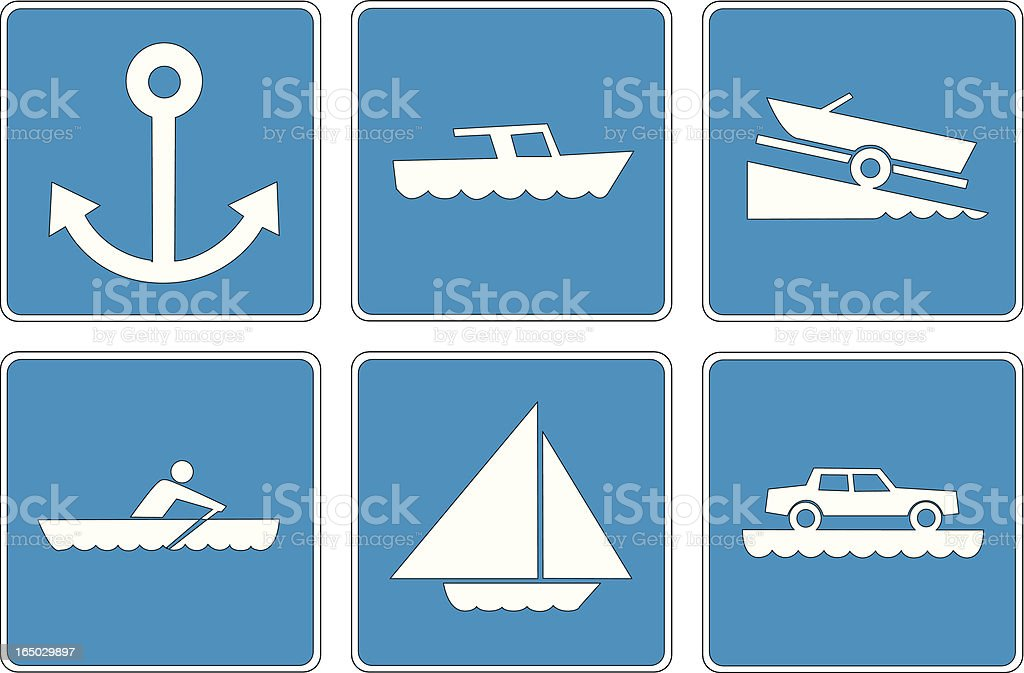Points of Interest: 9 royalty-free stock vector art