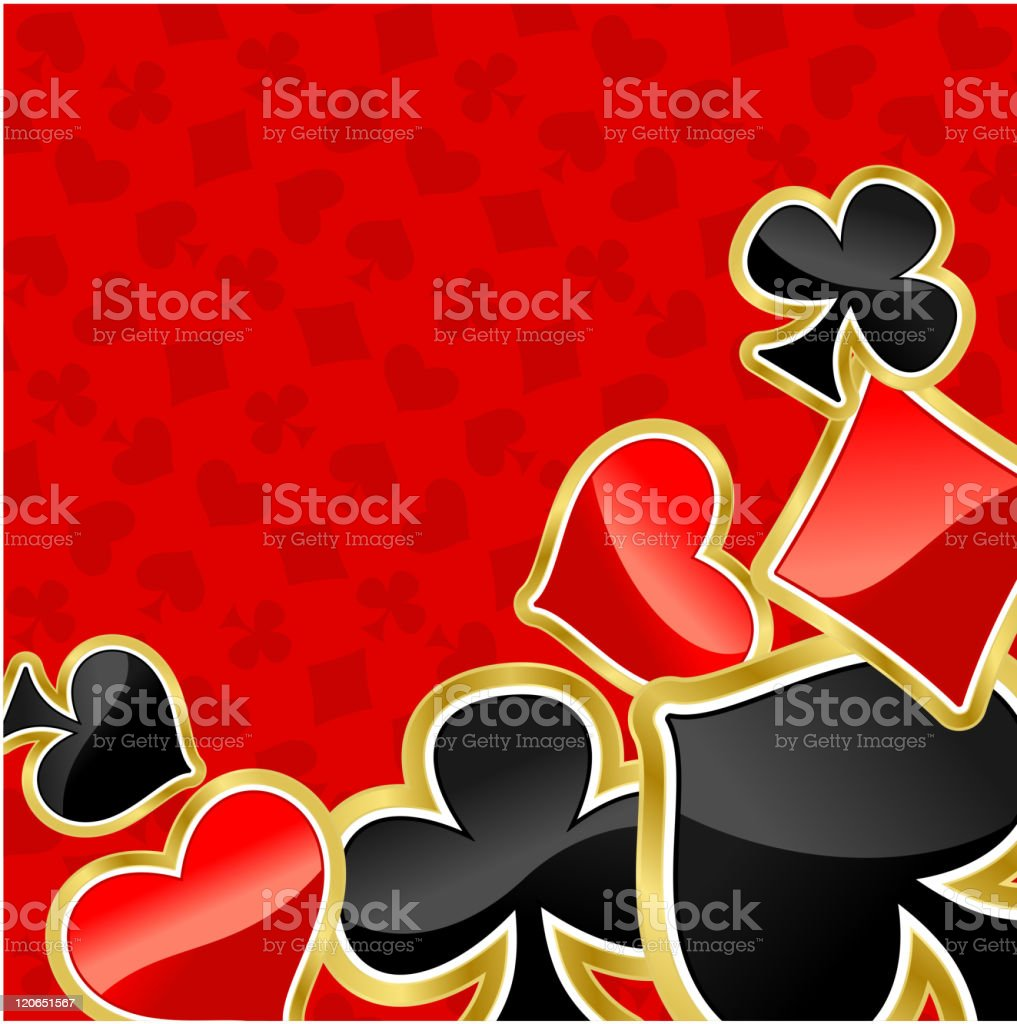 Poker background for ace or casino royalty-free stock vector art