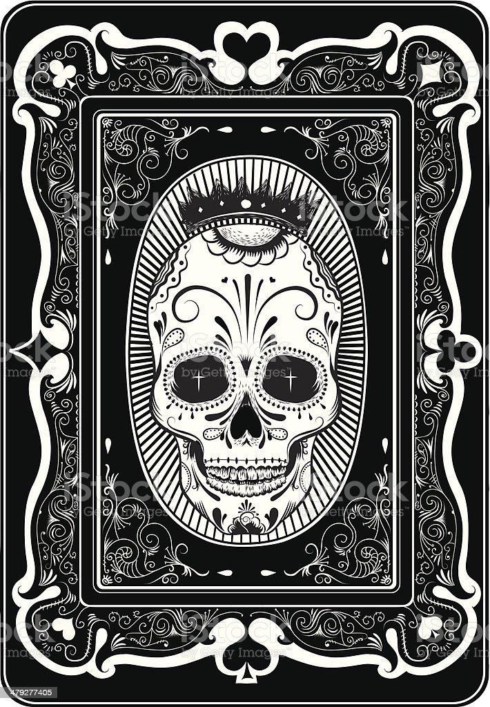Poker card vector art illustration