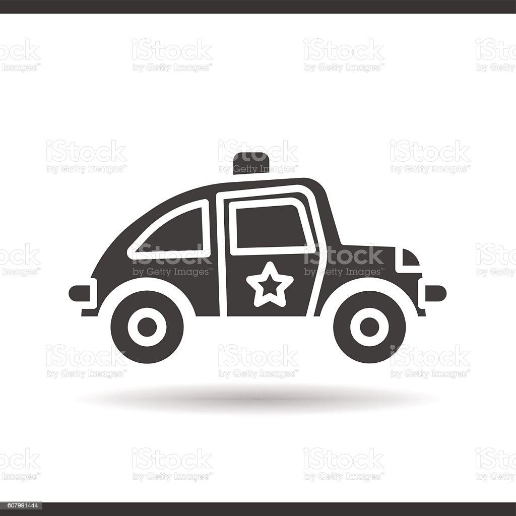 Police Car Symbol