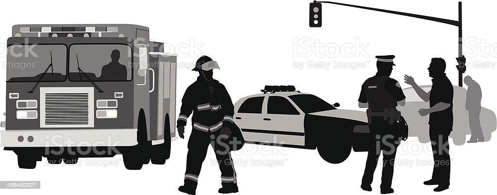 Police Work royalty-free stock vector art