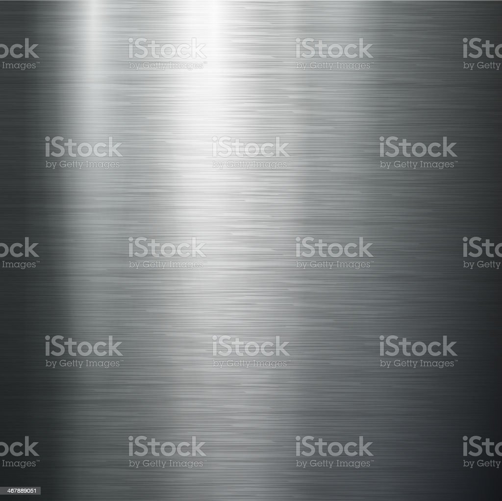 polished metal texture. vector art illustration