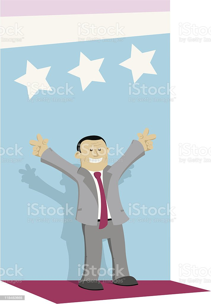 Politician royalty-free stock vector art
