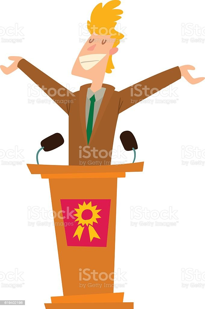 Politicians people vector set. vector art illustration