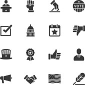 Politics icons - Regular