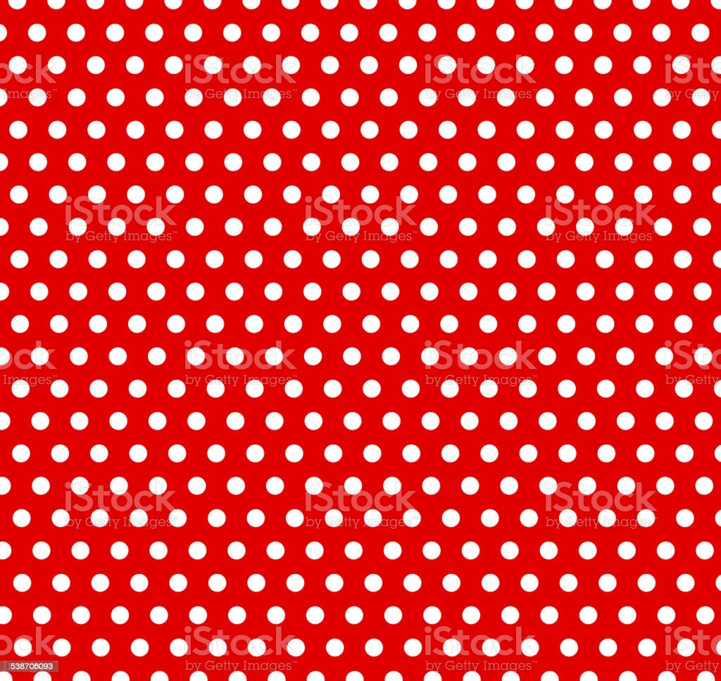 polka dot background vector art illustration