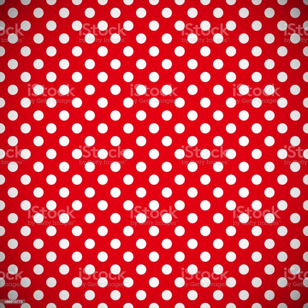 Polka dot pattern vector art illustration