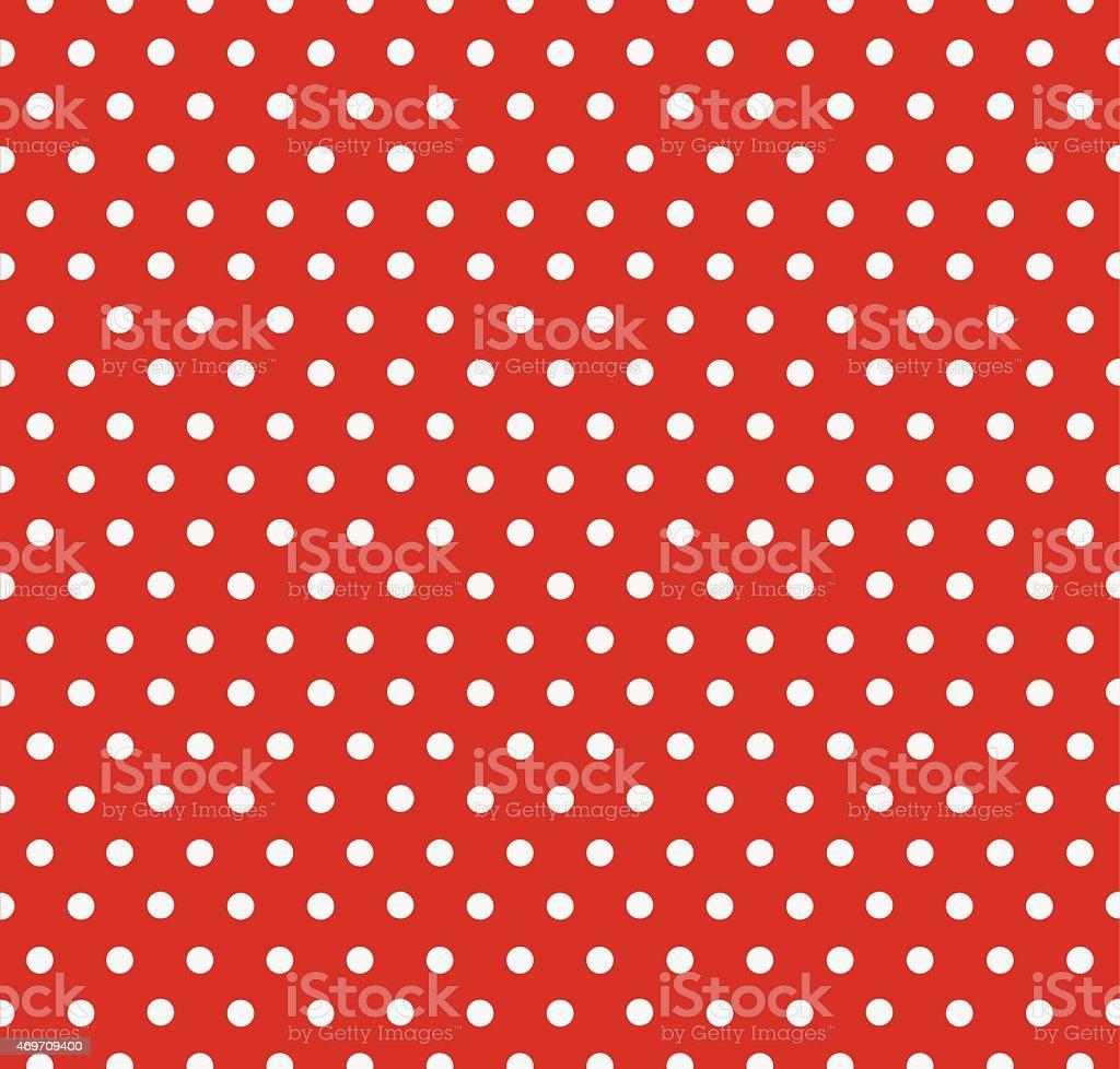 Polka Dot Seamless Pattern vector art illustration