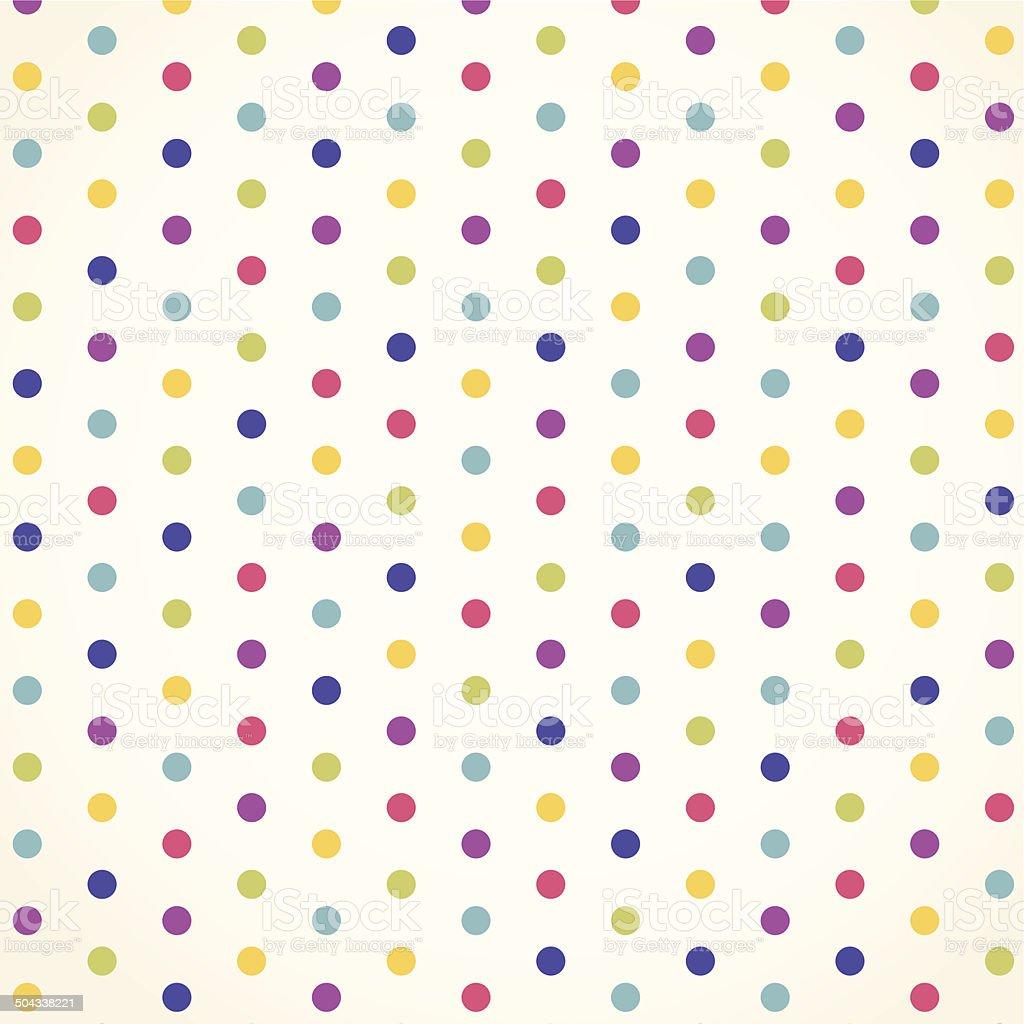 Polka dot vector design vector art illustration