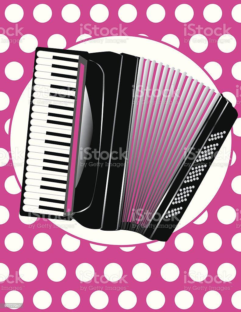 Polka! royalty-free stock vector art