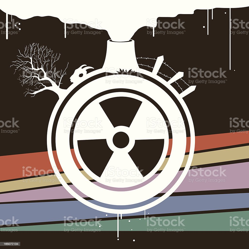 Pollution royalty-free stock vector art