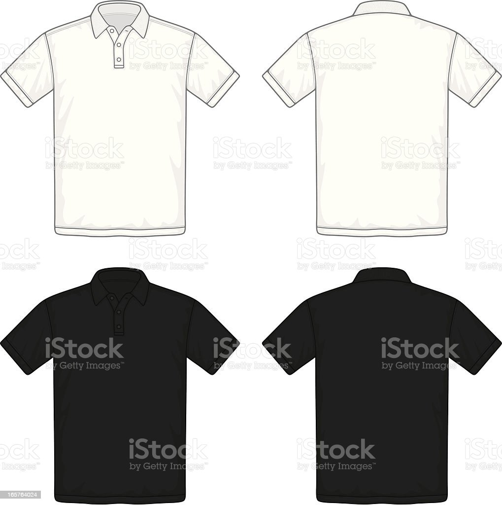 polo shirt royalty-free stock vector art