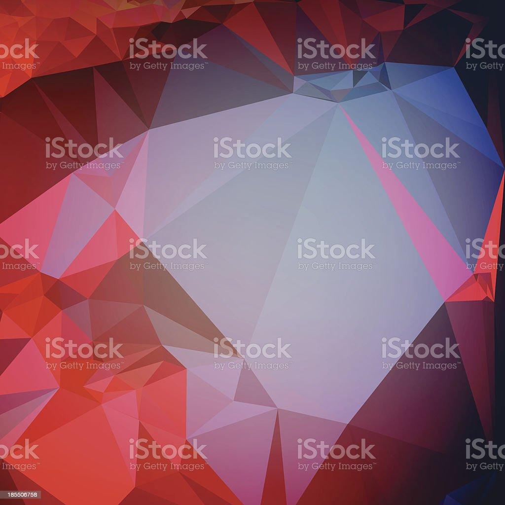 Polygon Abstract Stock Vector Background Graphic Art royalty-free stock vector art
