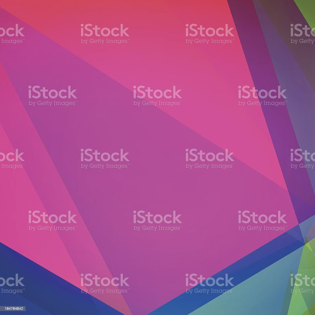 Polygon Color Layout Graphic Art Vector Abstract Background royalty-free stock vector art