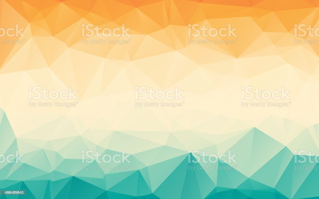 Polygonal Abstract Background vector art illustration