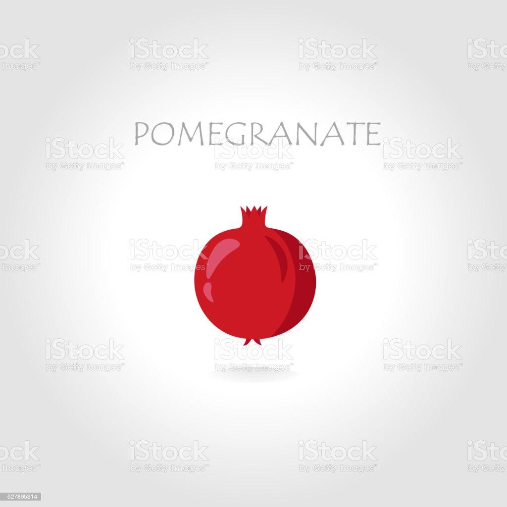 pomegranate vector illustration vector art illustration