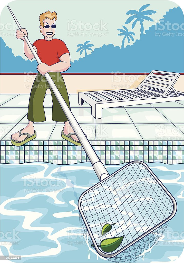 Pool Cleaning Clip Art : Swimming pool cleaning clip art cliparts