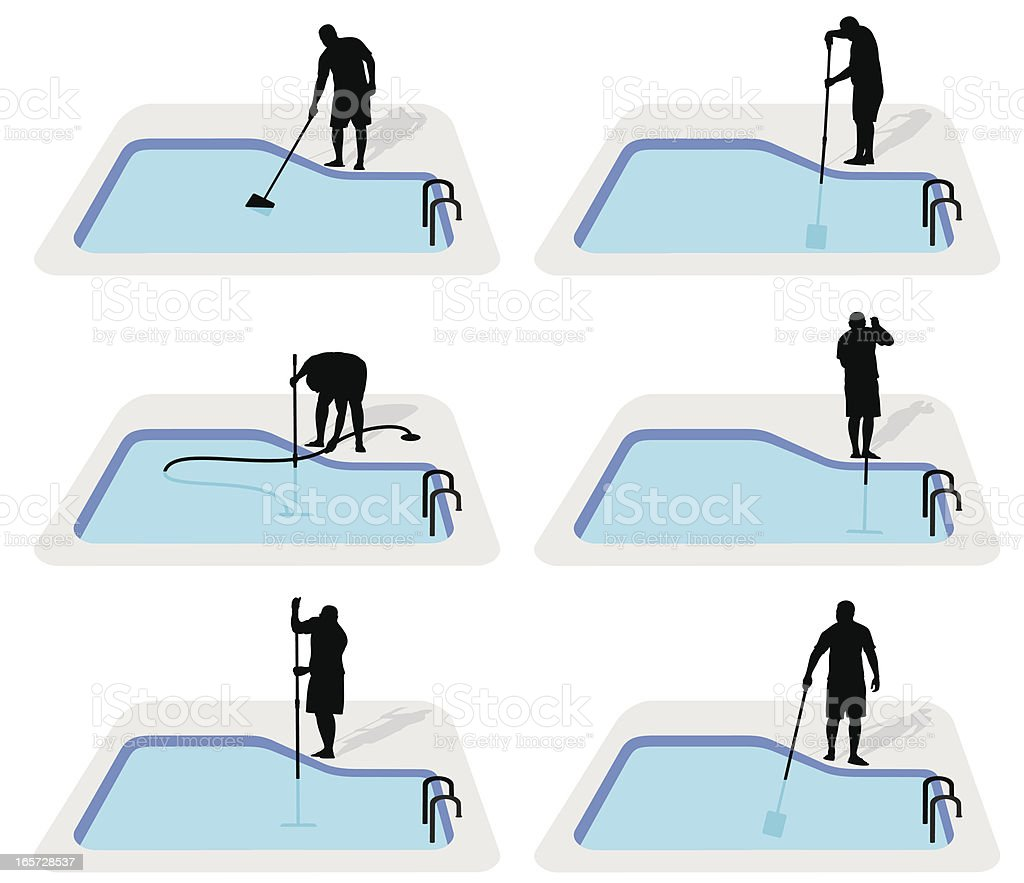 Pool Cleaning Clip Art : Pool cleaning supplies clip art cliparts