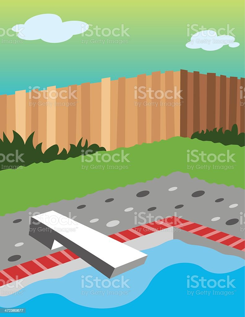 Pool royalty-free stock vector art