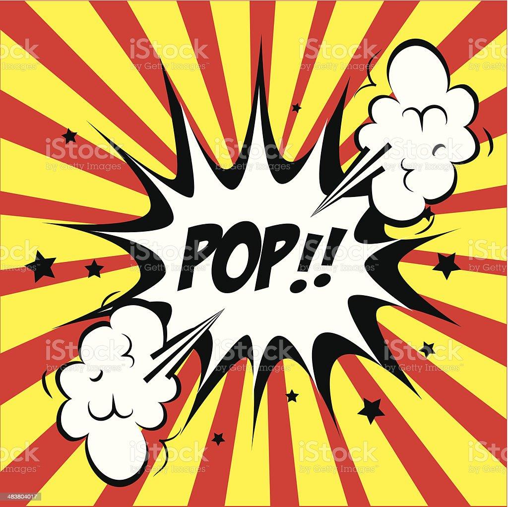 pop art design vector art illustration