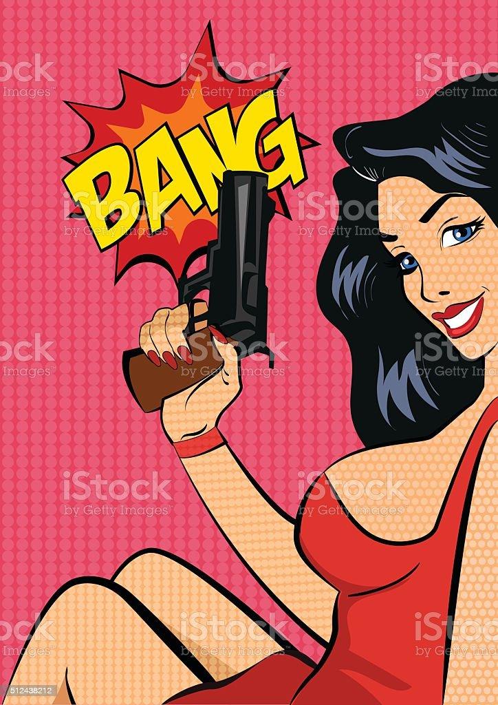 Оружие и женщины иллюстрации смотреть рисунки картинки фото фото 143-1000