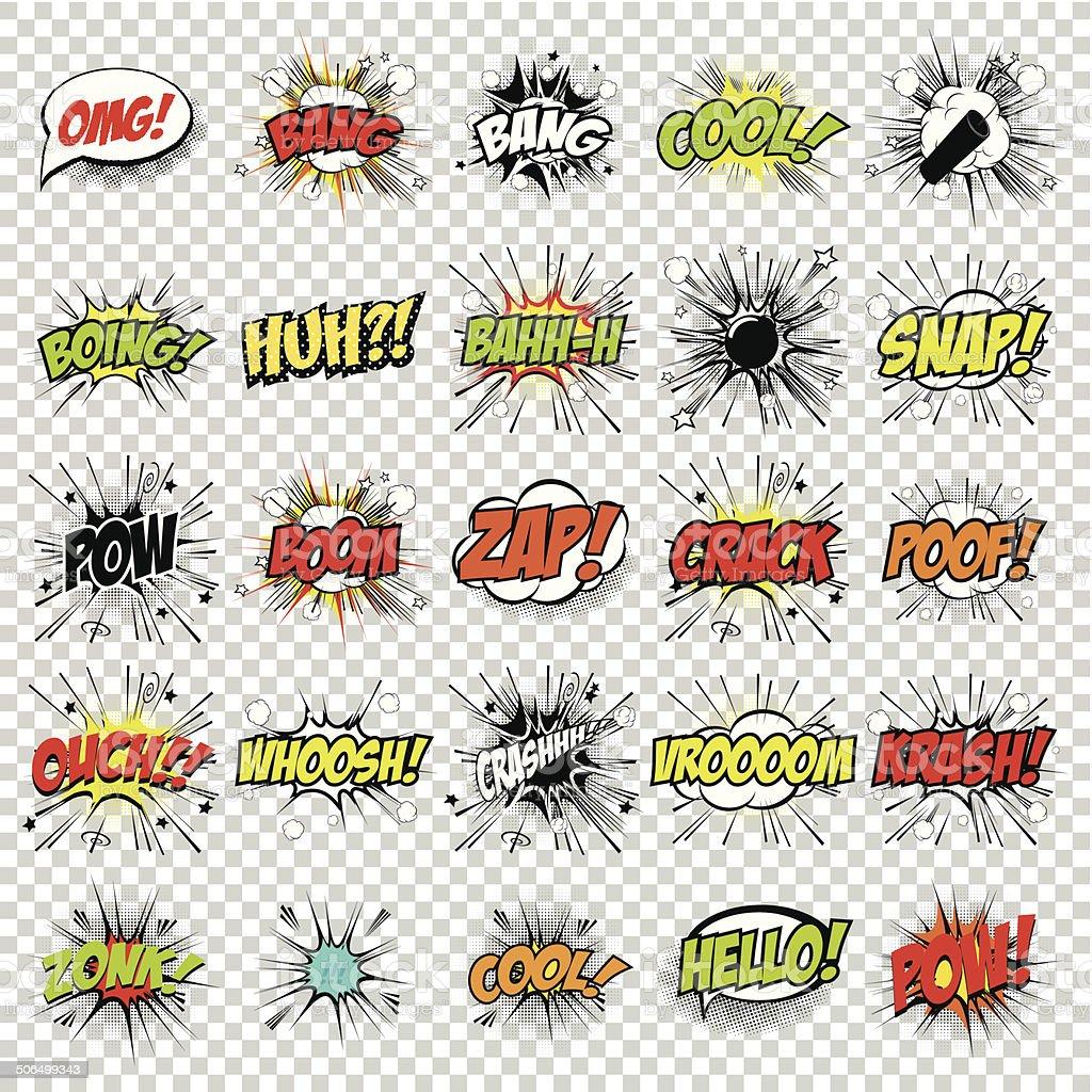 Pop Art vector art illustration