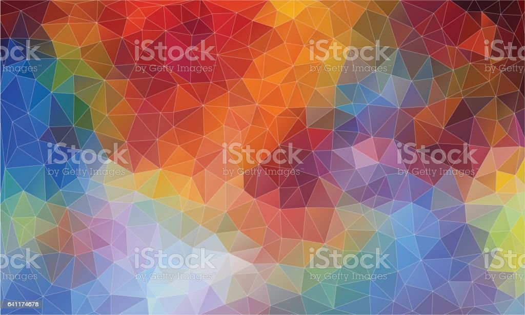 Pop mesh triangle light. Abstract triangle backgound for web. vector art illustration