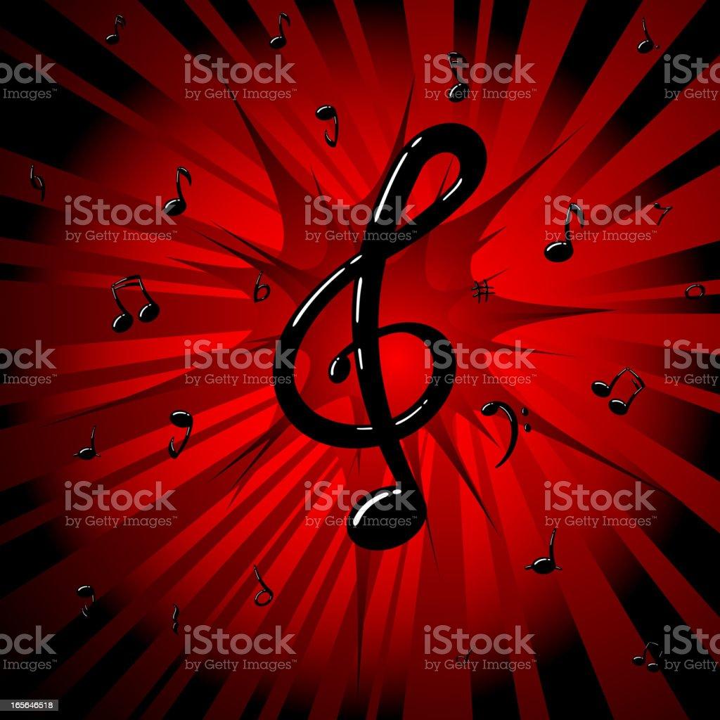 Pop Music royalty-free stock vector art