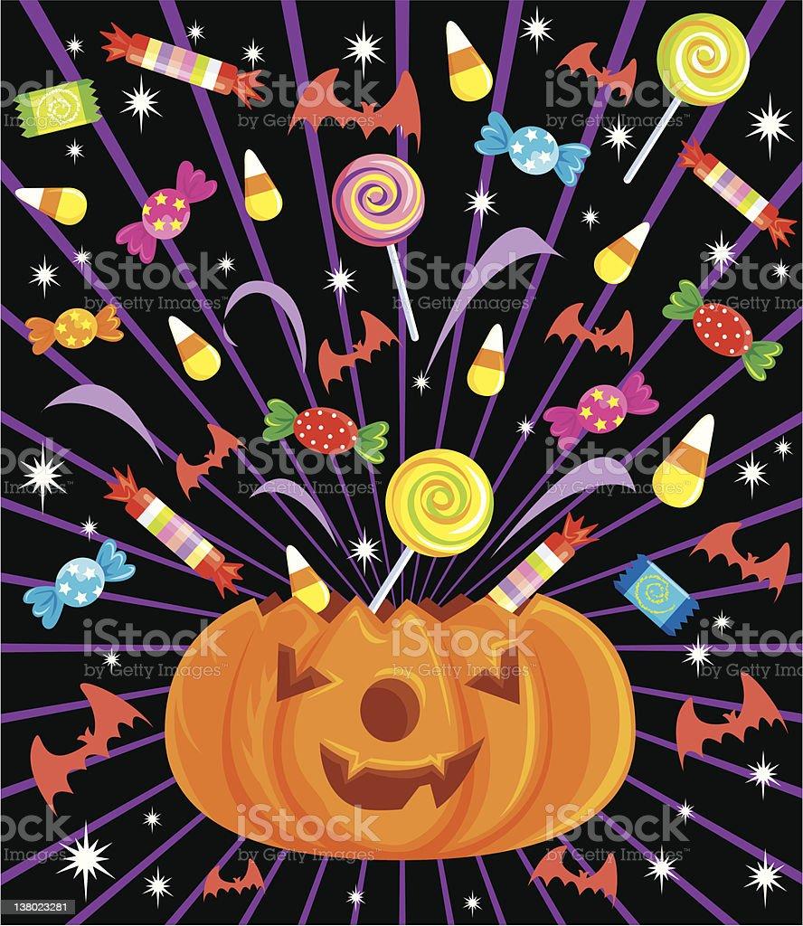 'Pop' Series - Halloween royalty-free stock vector art