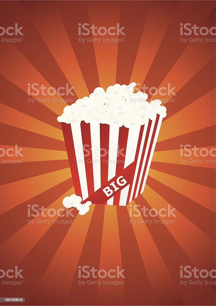 Popcorn royalty-free stock vector art