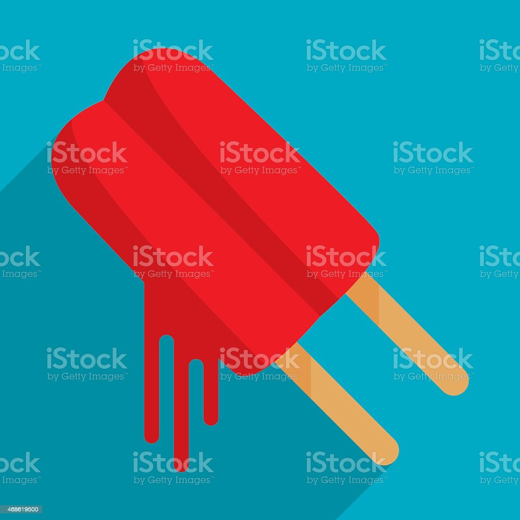 Popsicle vector art illustration