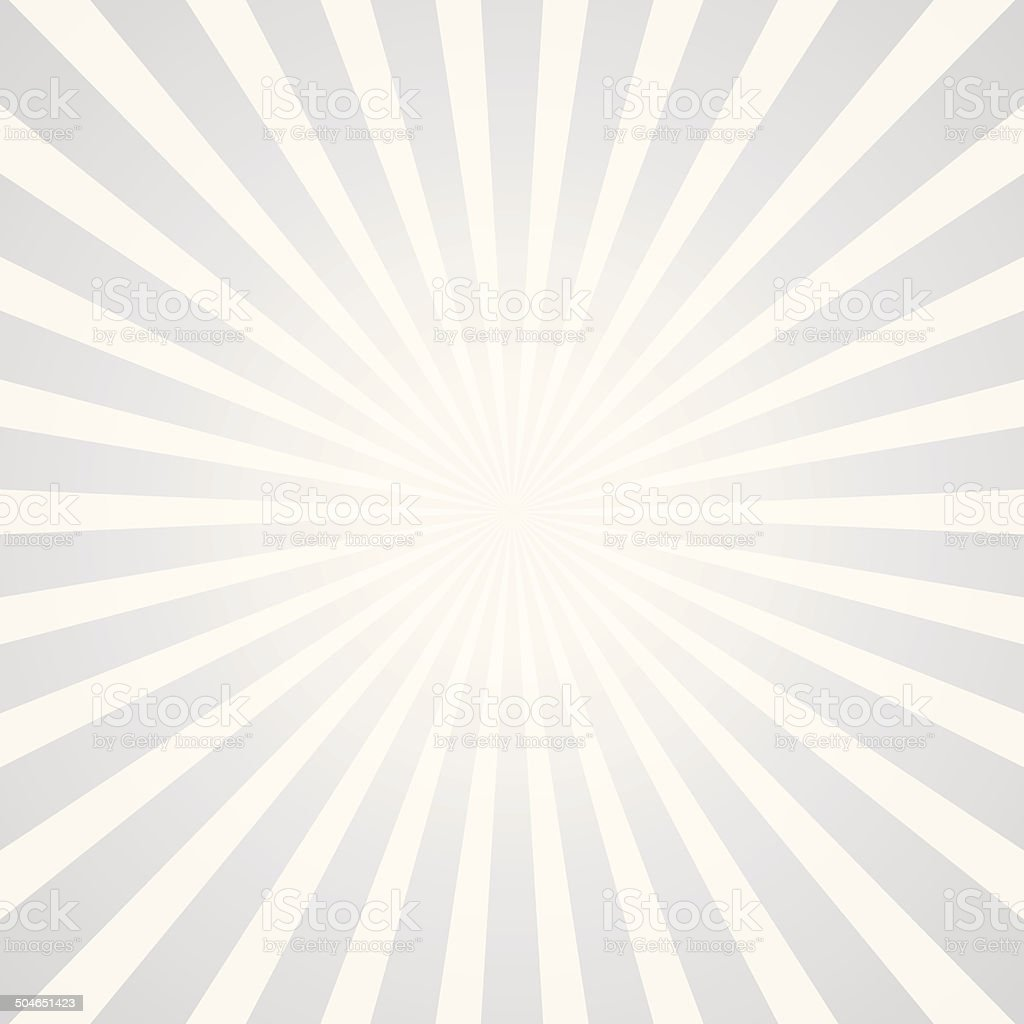popular white rays background television vintage vector art illustration