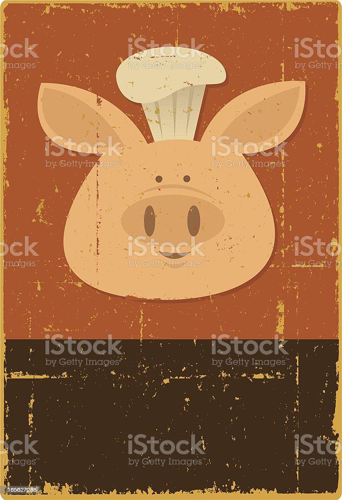 Pork BBQ royalty-free stock vector art