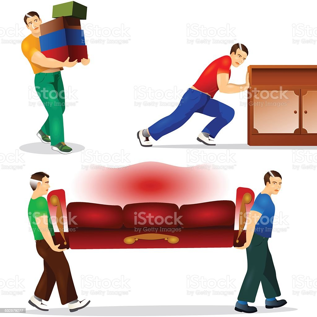Moving Furniture Clipart Clip Art Vector Images Illustrations Istock