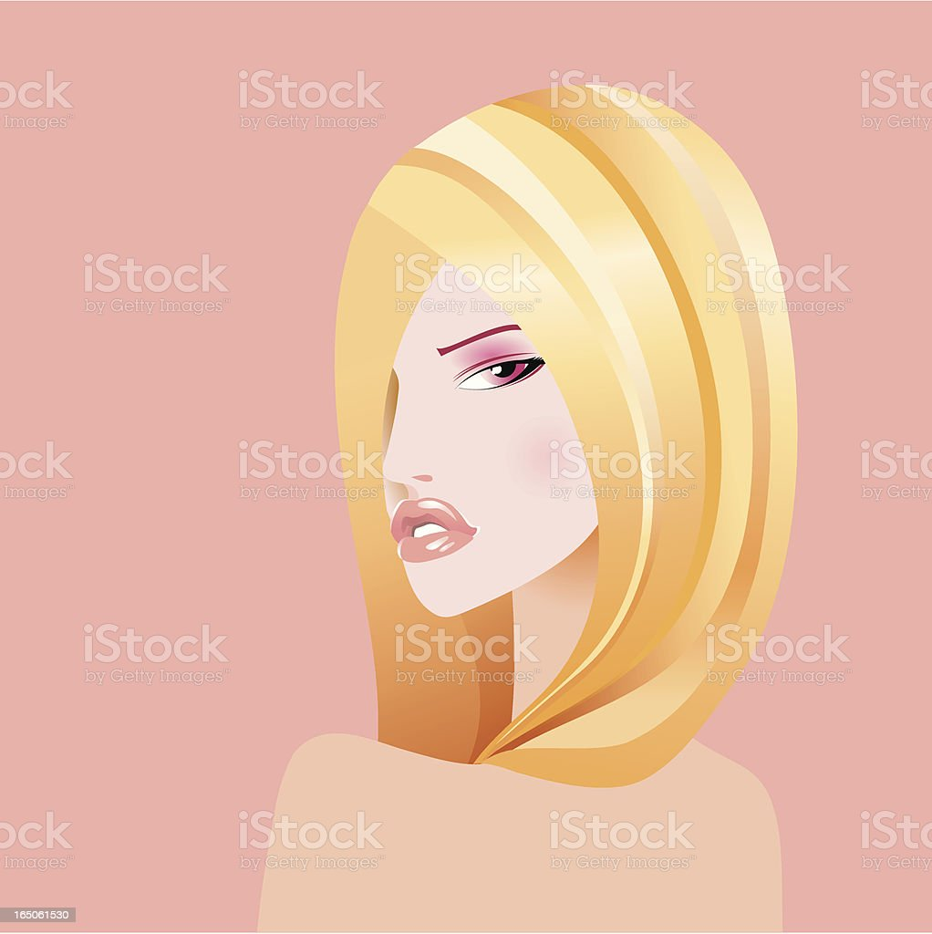Portrait royalty-free stock vector art