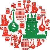 Portuguese Icon Set