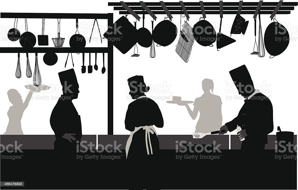 Positions Available Vector Silhouette vector art illustration