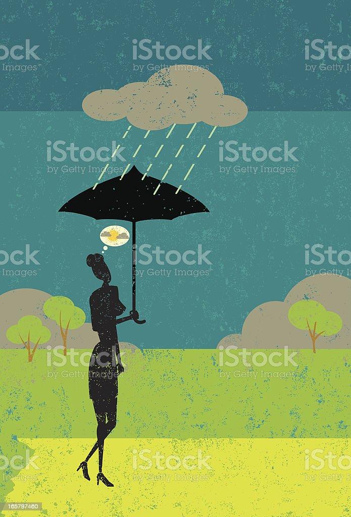 Positive attitude royalty-free stock vector art