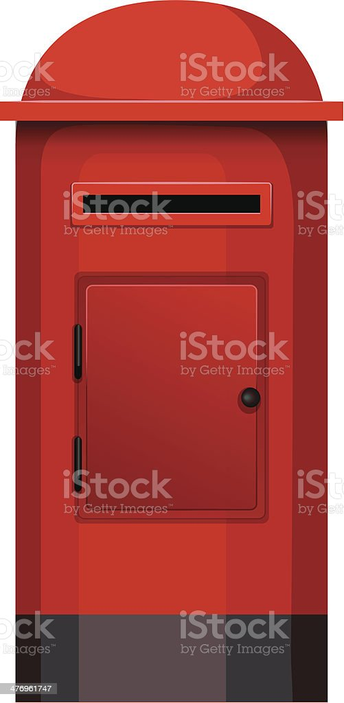 post box royalty-free stock vector art