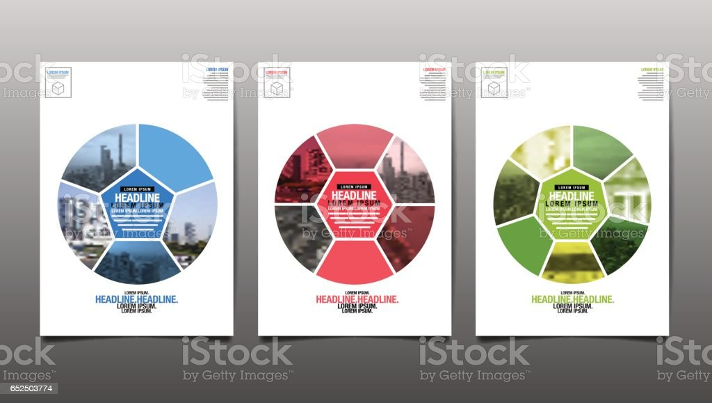 Poster , Flyer Template, Circle Abstact Background, vector Illustration vector art illustration