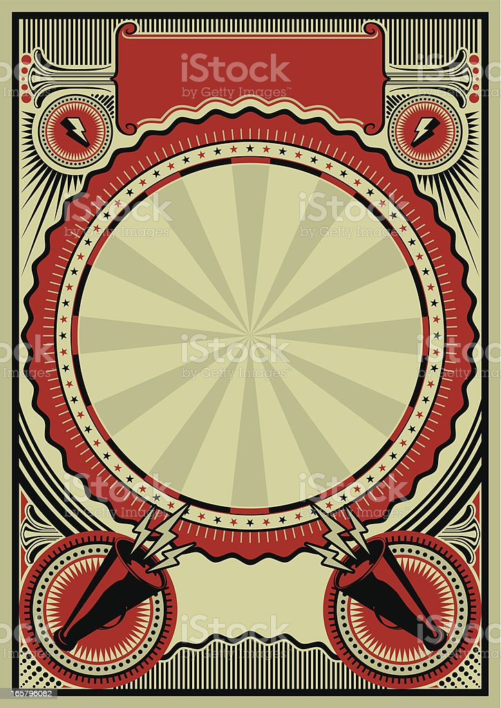 poster royalty-free stock vector art
