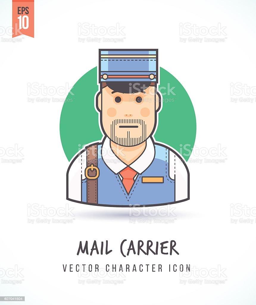 Mail Courier Clip Art