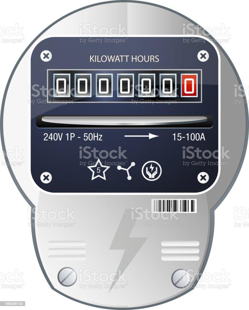 Power Meter royalty-free stock vector art